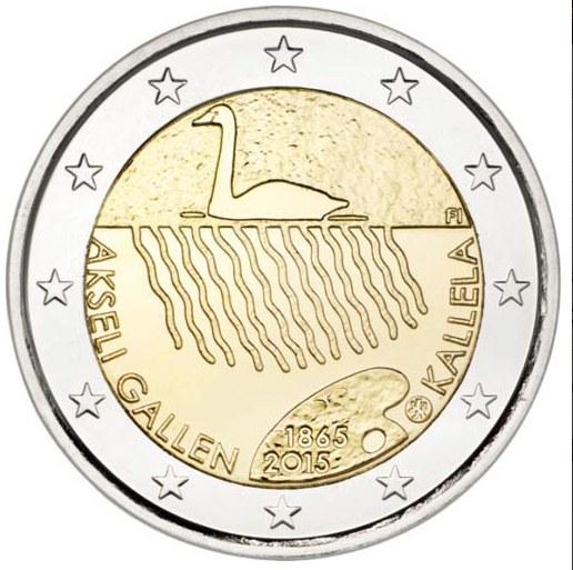 2 Euro Fínsko 2015, Akseli Gallen-Kallela