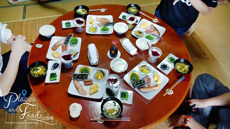 akita homestay breakfast