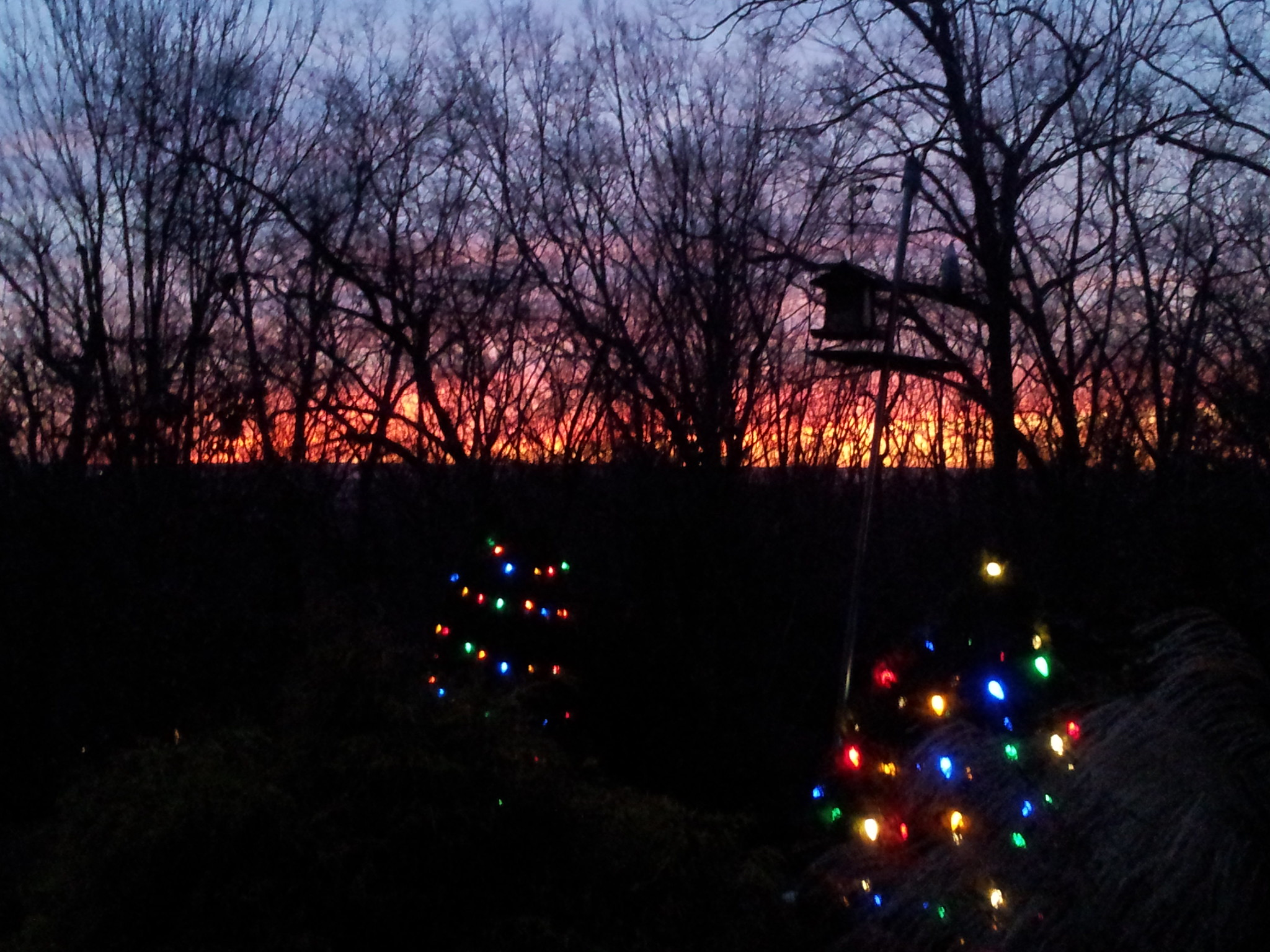 Christmas Eve Sunset