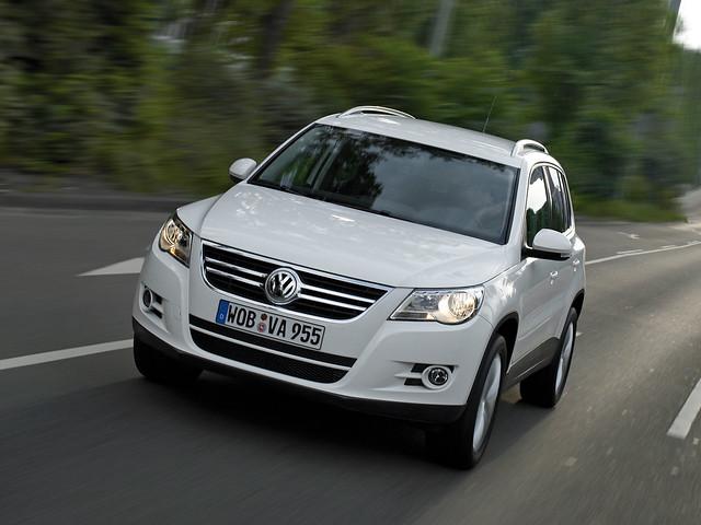 Кроссовер Volkswagen Tiguan. 2008 – 2011 годы