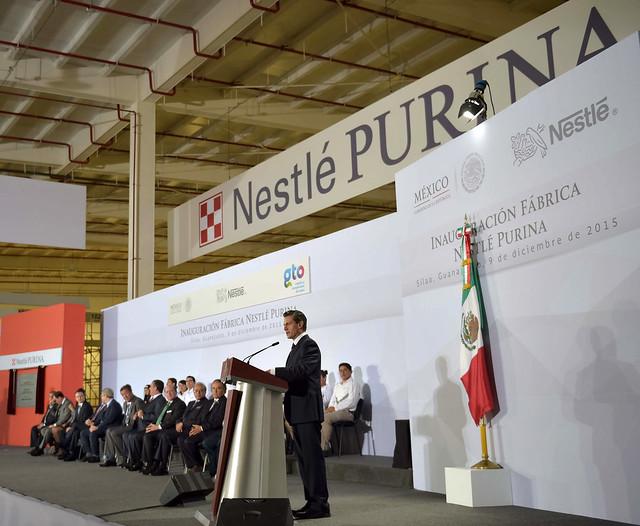 Inauguración de la Fábrica Nestlé Purina en Guanajuato from Flickr via Wylio