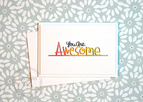 Paper Smooches - Awesome die