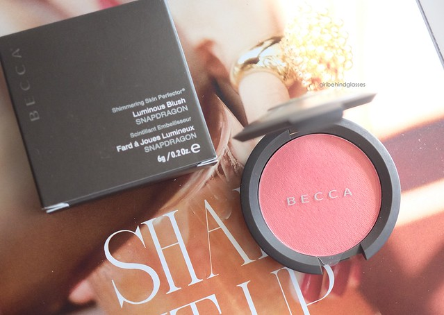 Becca Shimmering Skin Perfector Luminous Blush Snapdragon