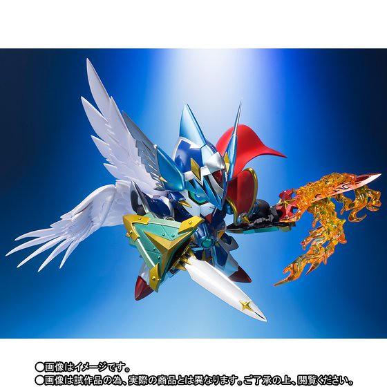 傳說的三神器再臨!片翼的勇者誕生!《新SD鋼彈外傳 鎧闘神戰記》SDX 神聖騎士飛翼鋼彈 神聖騎士ウイング