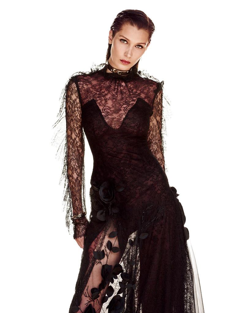 Белла Хадид — Фотосессия для «Vogue» JP 2016 – 2