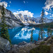 Moraine Lake - Banff Canada by DLizbinski