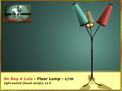 Bliensen - Be Bop A Lula - Floor Lamp