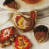 Happy Turkey day!              #sugarcookies #thanksgiving #babushkabakery #shipping #chicagofood