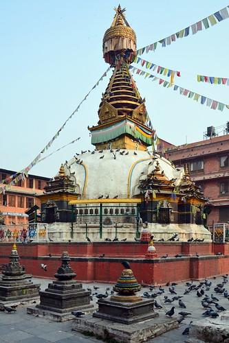 Nepal - Kathmandu - Drupgon Jangchup Choeling Stupa - 4