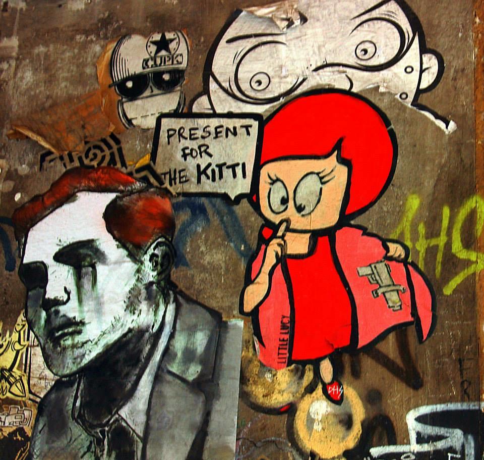 Little Lucy is an intriguing series of Berlin Street Art
