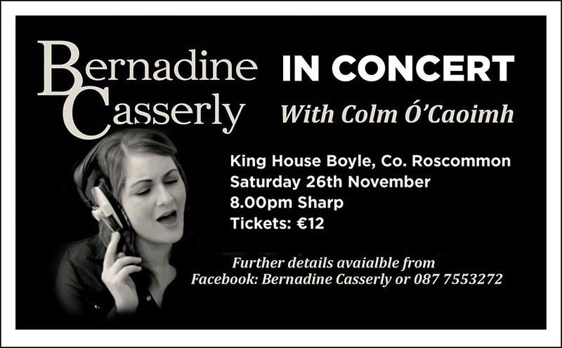 Bernie Casserly in concert