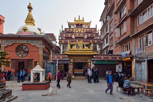 Nepal - Kathmandu - Drupgon Jangchup Choeling Monastery - 8