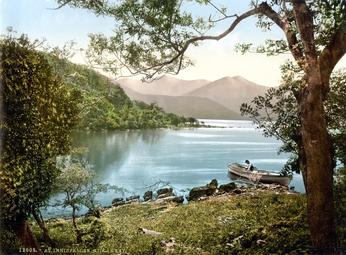 Innisfallen, Killarney. County Kerry, Ireland