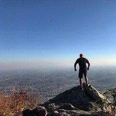 View at the top, is worth every step. #citypark #johnsoncitytn #buffalomountain #ATtraining