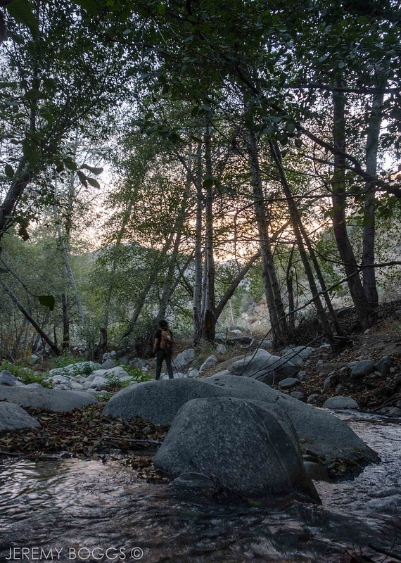 Buell's, San Gabriel River, East Fork, San Gabriel Mountains, Dave Buell, Angeles National Forest