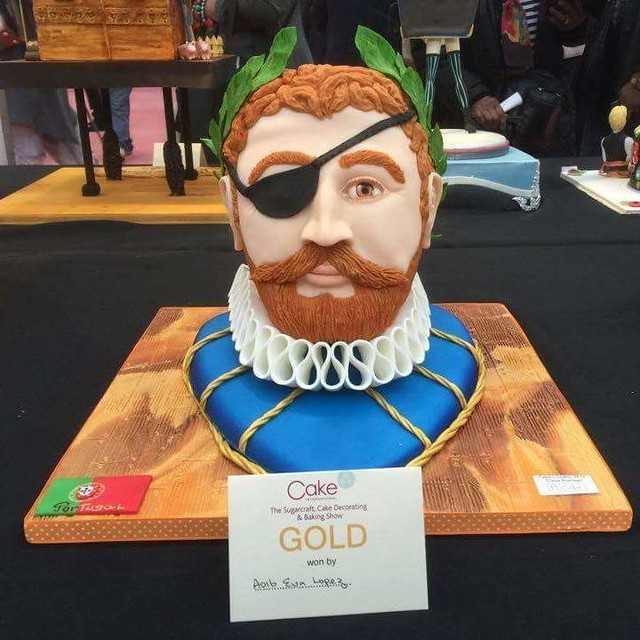 Cake by Eva Lopes of Eva bolos criativos