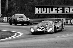 Porsches at Mulsanne
