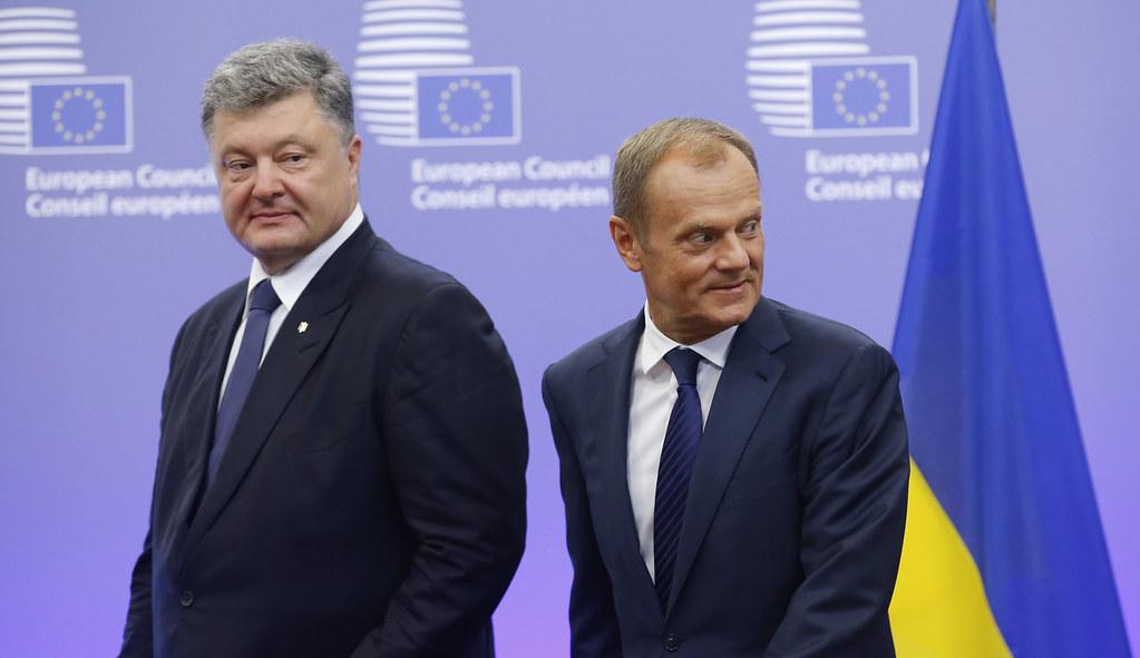 BELGIUM EU COUNCIL UKRAINE PRESIDENT VISIT