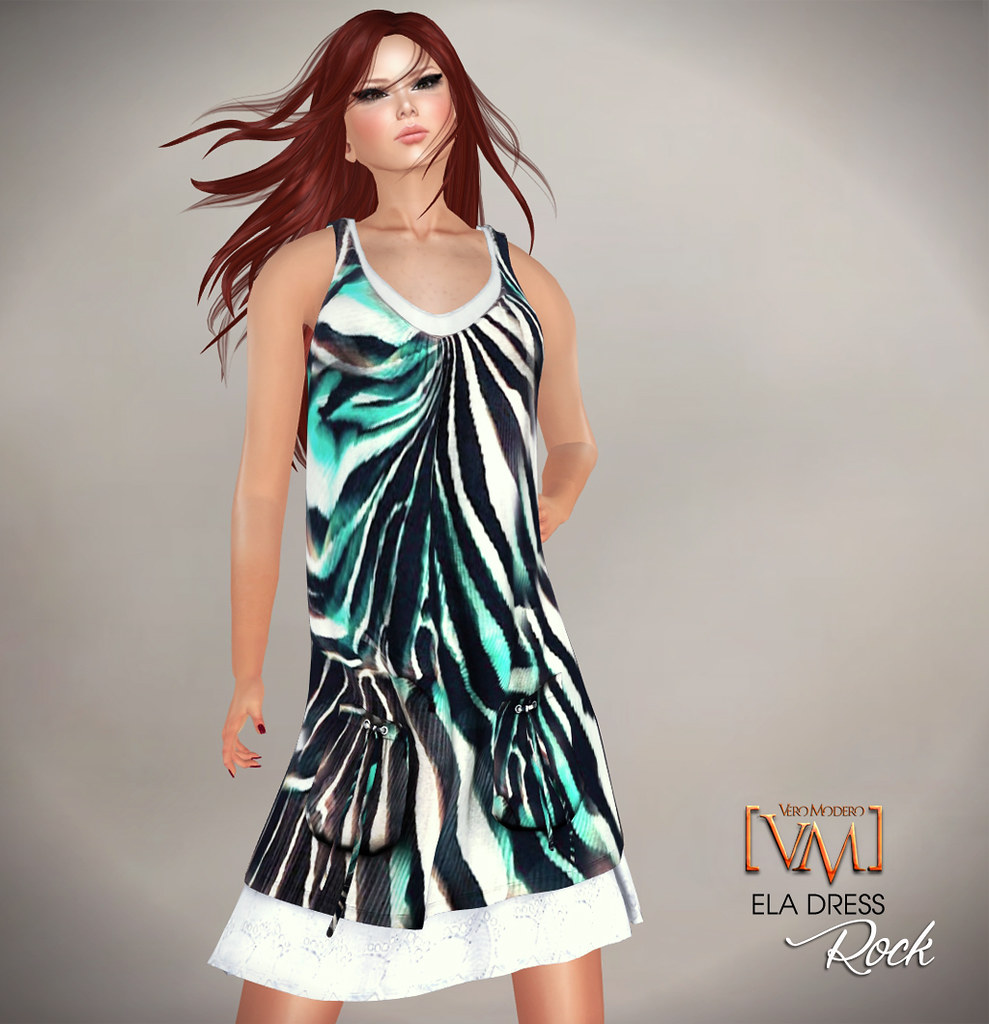 [VM]  VERO MODERO Ela Dress Rock