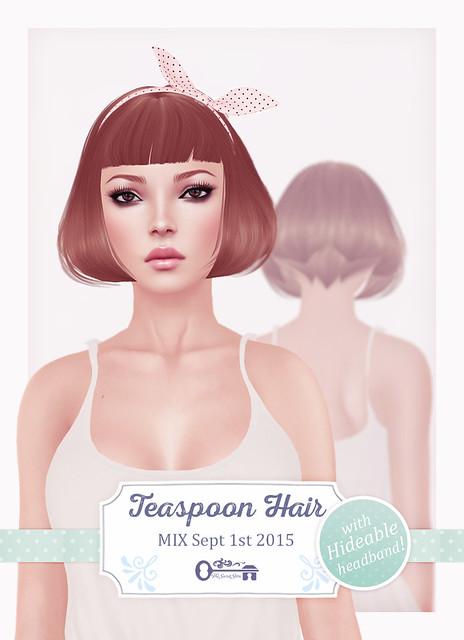 The Secret Store - Teaspoon Hair / MIX