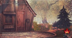Trompe Loeil - The Le Fay Cottage & Garden for Collabor88 September