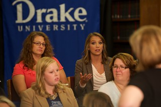 CNN Focus Group at Drake University