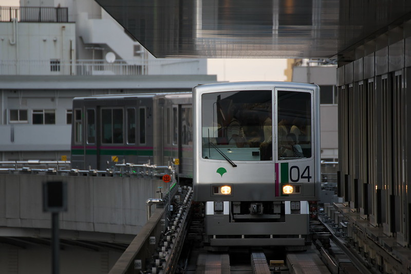 Tokyo Train Story 日暮里・舎人ライナー 2015年9月20日
