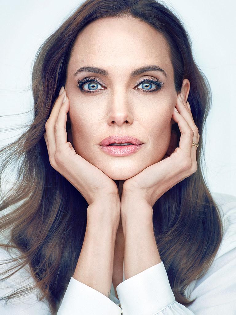 Анджелина Джоли — Фотосессия для «People» 2014 – 3