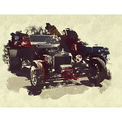 1925 Ford model T. #digitalpainting #vintagecar #oldcar #hotrods