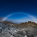 Moonbow over Haleakala by Alek Miko