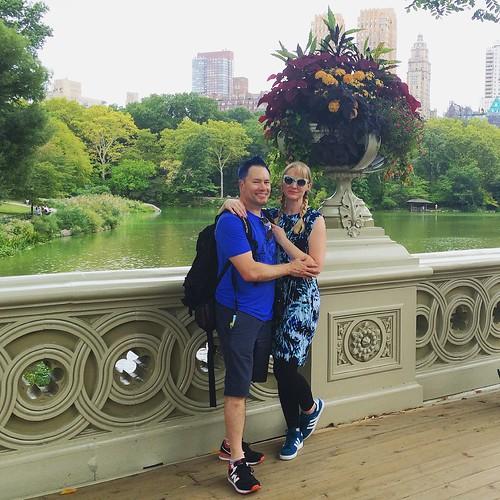 J and L on the Rainbow Bridge