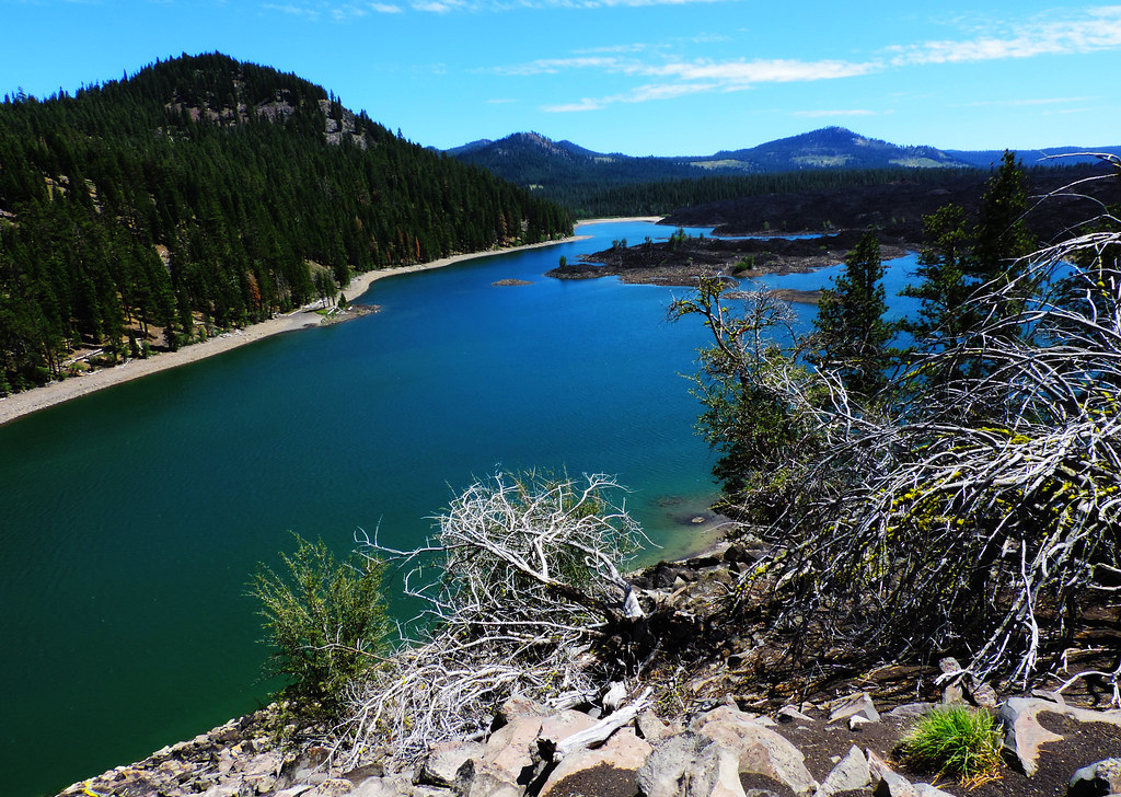 Butte Lake, Lassen Volcanic National Park, CA, USA