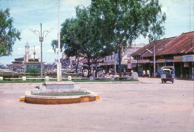 Downtown Phu Cuong City July '68