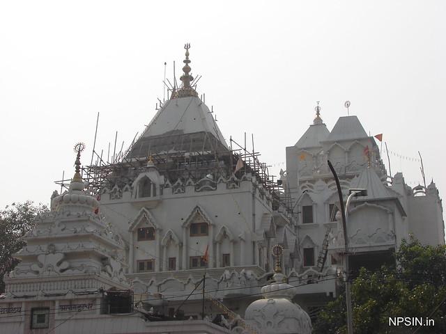 A full view of Shri Gauri Shankar Mandir