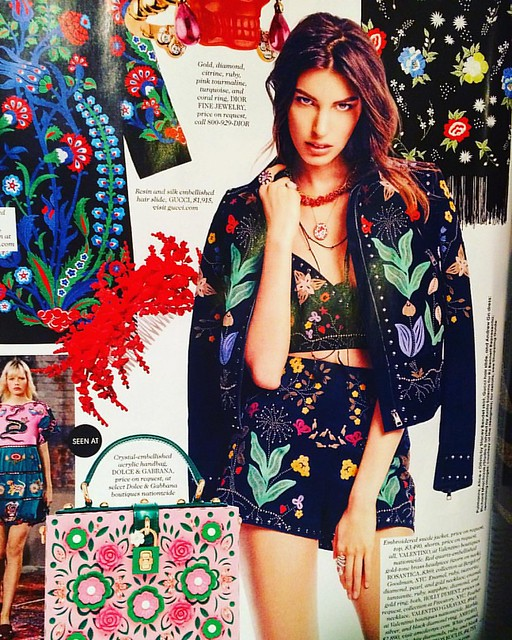 """Everything on this page looks good to me, """"Elle"""" magazine. 🌸"""