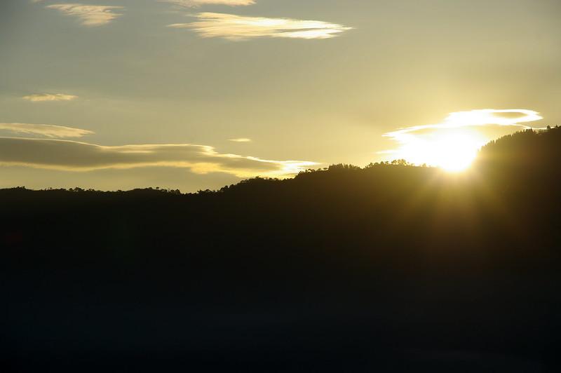 坂戸山から朝日が昇る #2_201510_NO2