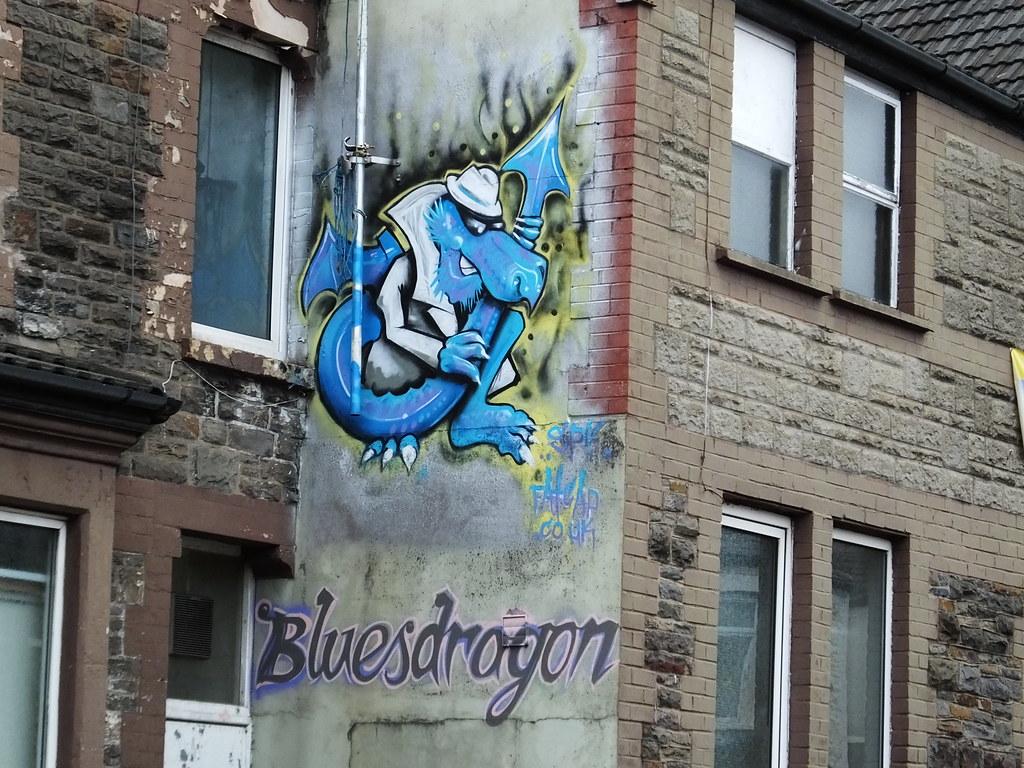 Roath street art