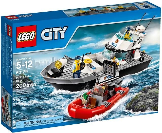 LEGO City 60129 - Police Patrol Boat