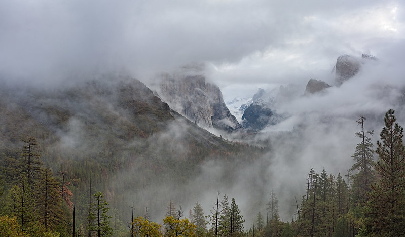 Storm Clearing at Tunnel View