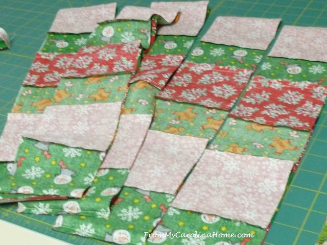 Quick Christmas squares 3