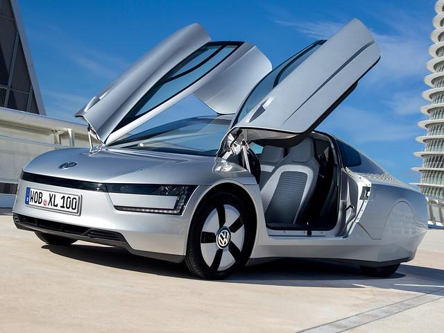 Самый экономичный Volkswagen XL1. 2013 год