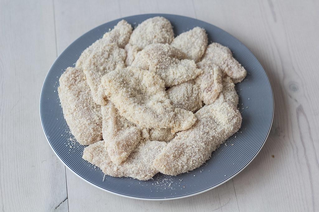 Parmesanpaneret kylling