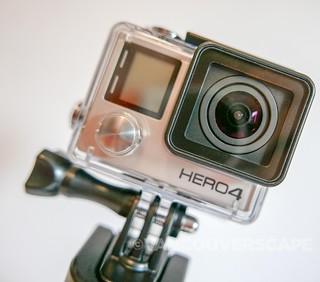 GoPro HERO4 Black with Bac Pac standard housing