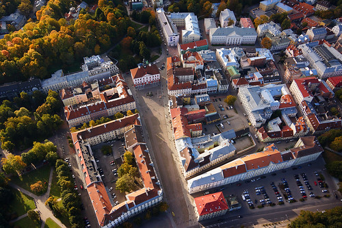 europe estonia aerialview medieval special eesti tartu estland photoimage sooc sonyalpha tartumaa sonyα geosetter geotaggedphoto nex7 sel18200 фотоfoto year2015
