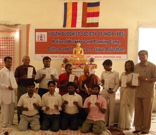 YBS National Workshop and Planning Camp, Jaipur, Rajasthan, 2011. From Bhikkhu Upanand