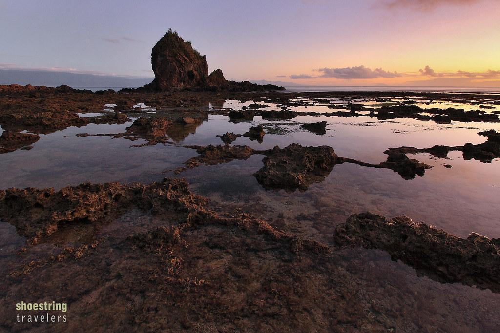 sunrise at Diguisit Beach, Baler, Aurora