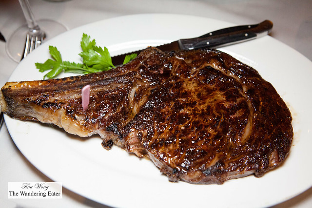 Seared rib eye