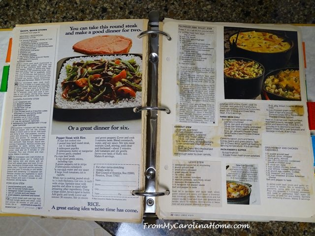 Binder cookbook