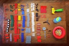 Primero lo primero: saber que materiales tenemos para luego crear.