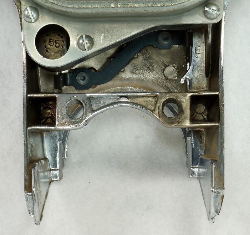 RD14416 1955 1956 Chevrolet Bel Air Dash Gauge Cluster Insturmentation 150 210 DSC06047